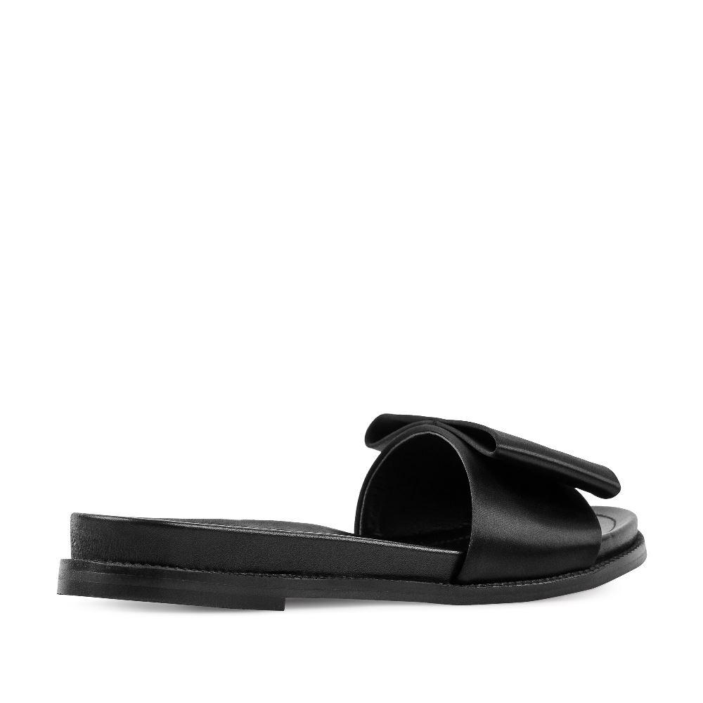 Женские сандалии CorsoComo (Корсо Комо) 52-197-X1279-1 без п. Пантолеты жен текстиль черн.