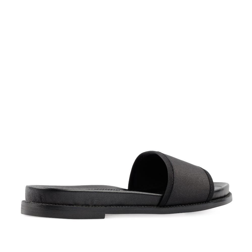 Женские сандалии CorsoComo (Корсо Комо) 52-197-X1280-2 без п. Пантолеты жен текстиль черн.