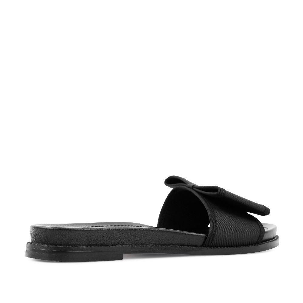 Женские сандалии CorsoComo (Корсо Комо) 52-197-X1304-8 без п. Пантолеты жен текстиль черн.
