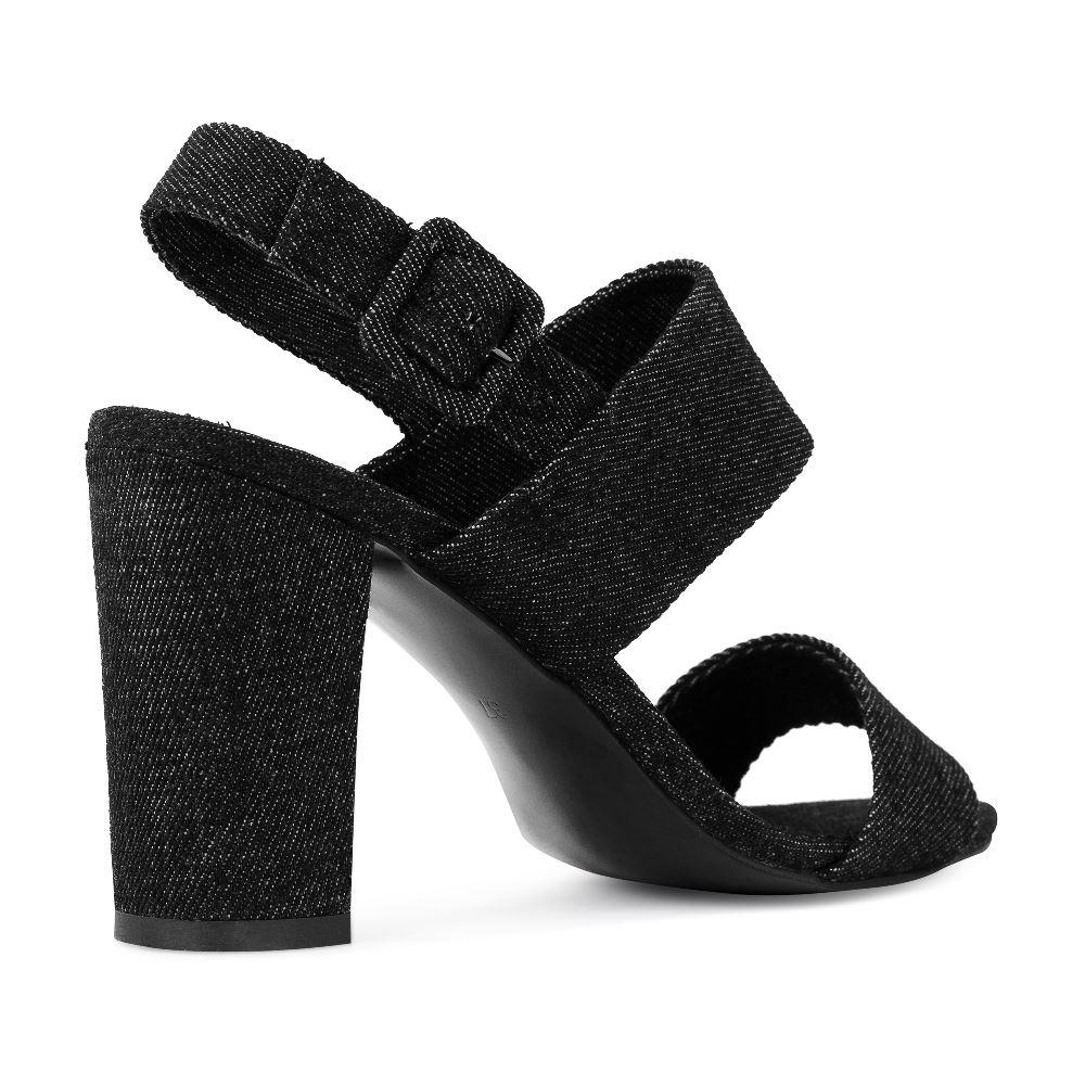 Женские босоножки CorsoComo (Корсо Комо) 52-204-X1089-2 без п. Туфли жен текстиль черн.
