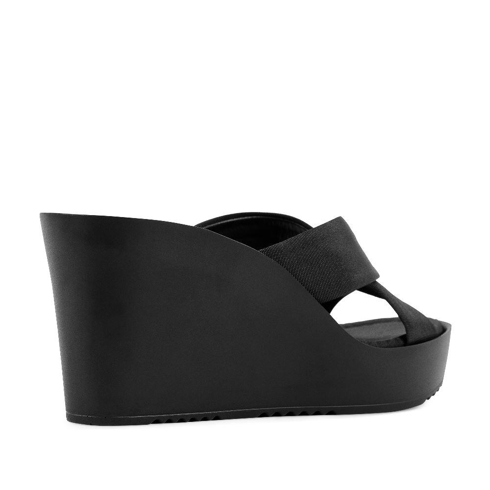 Женские босоножки CorsoComo (Корсо Комо) 52-237-S1041-1 без п. Туфли жен текстиль черн.