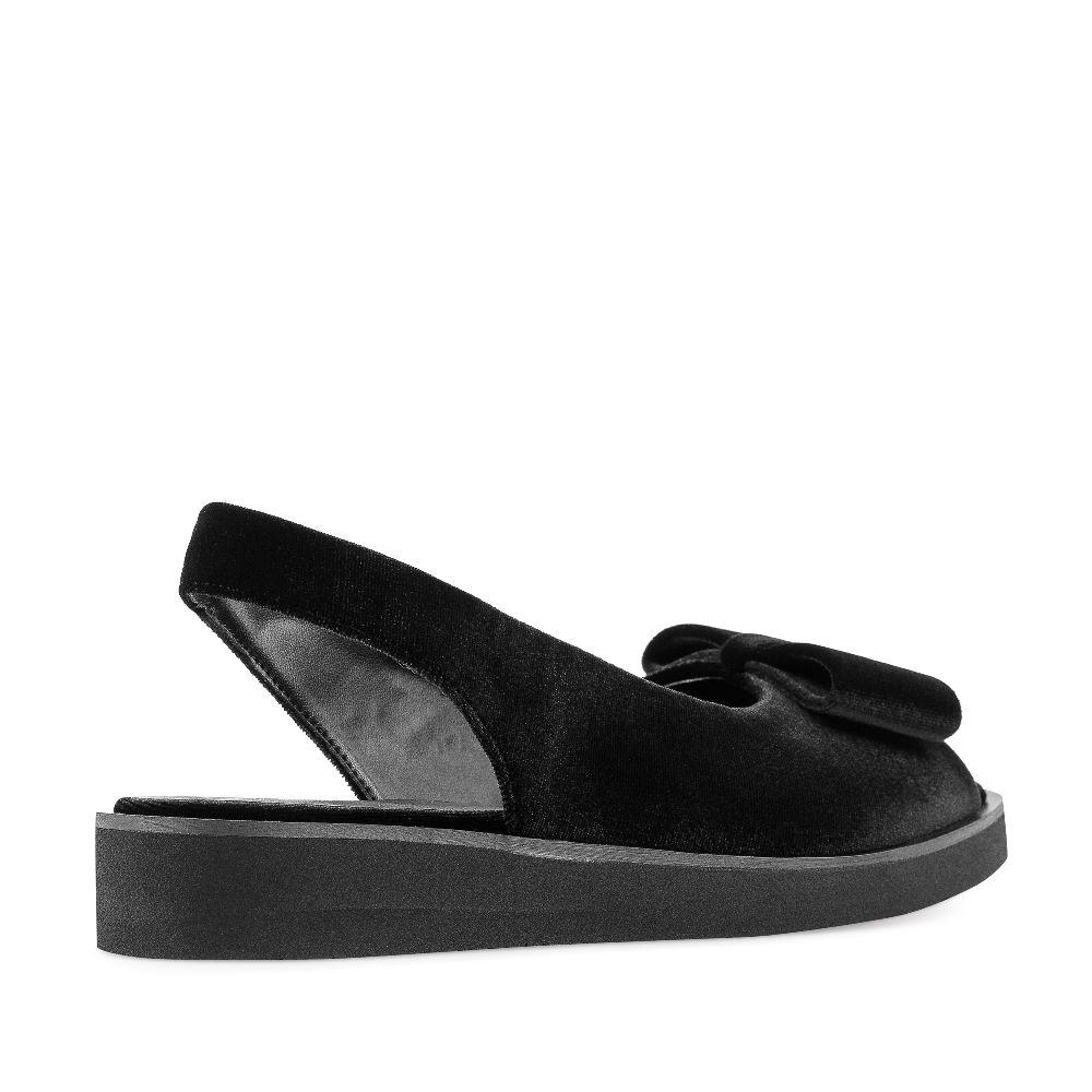 Женские сандалии CorsoComo (Корсо Комо) 52-263A-X1277-1 без п. Сандалеты жен текстиль черн.