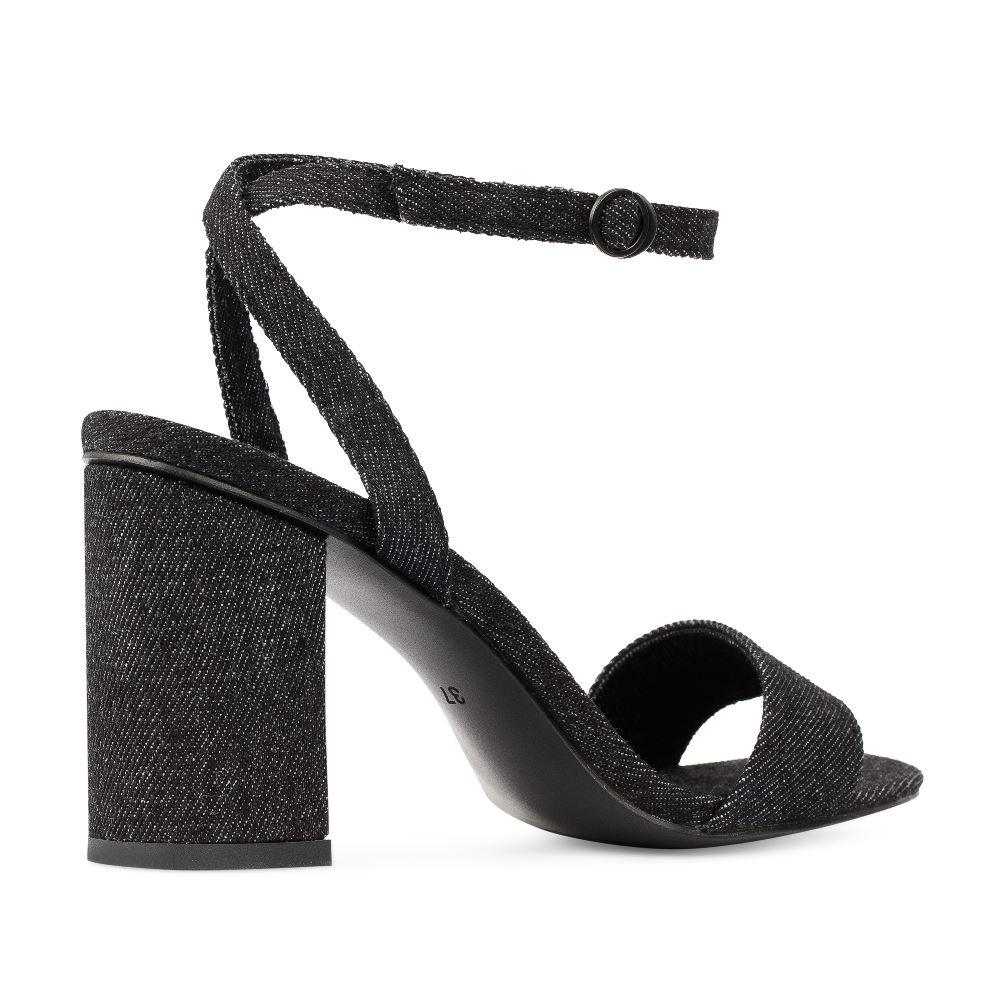 Женские босоножки CorsoComo (Корсо Комо) 52-272-S1040-4 без п. Туфли жен текстиль черн.