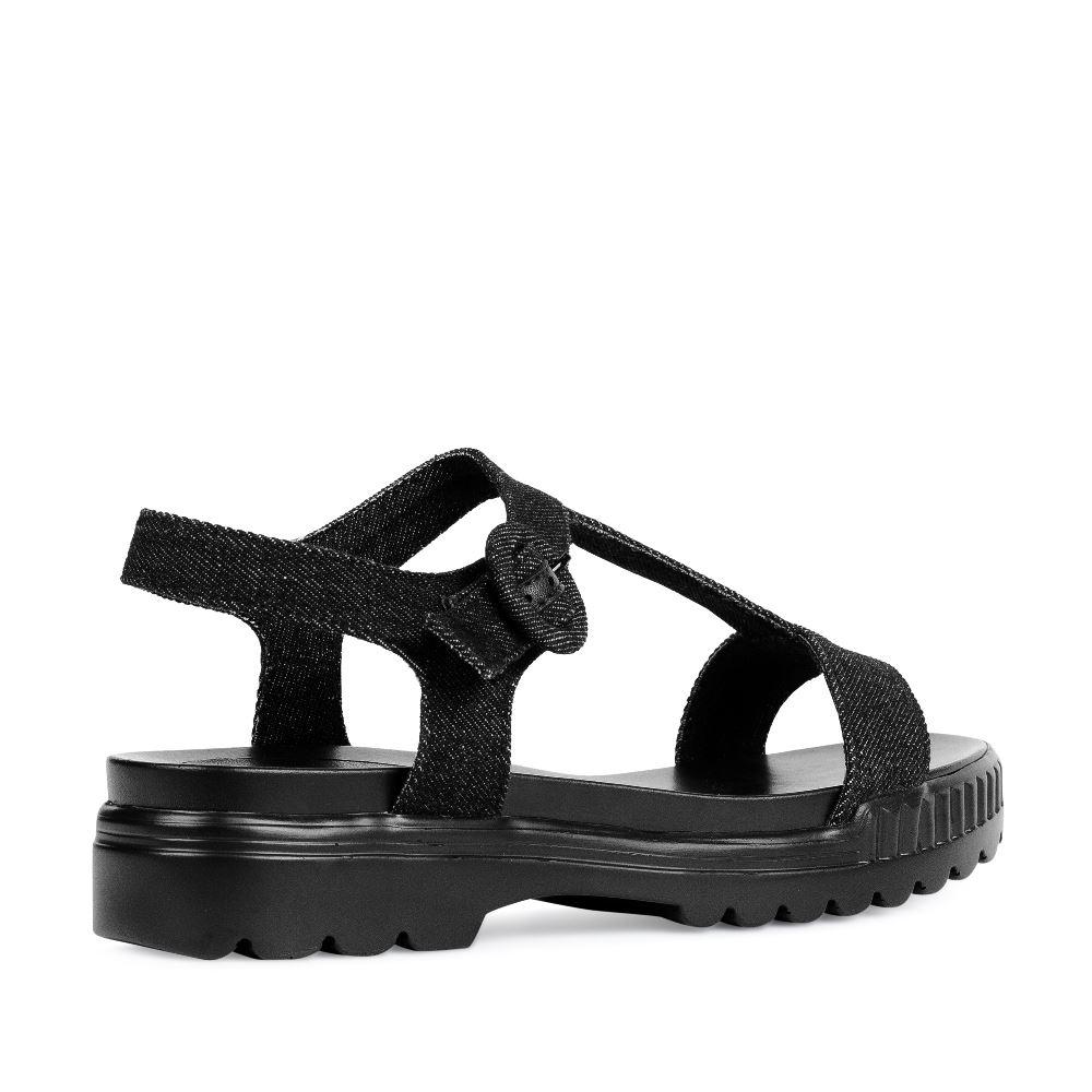 Женские сандалии CorsoComo (Корсо Комо) 52-H25-A454-2G2 т.п. Туфли жен кожа черн.