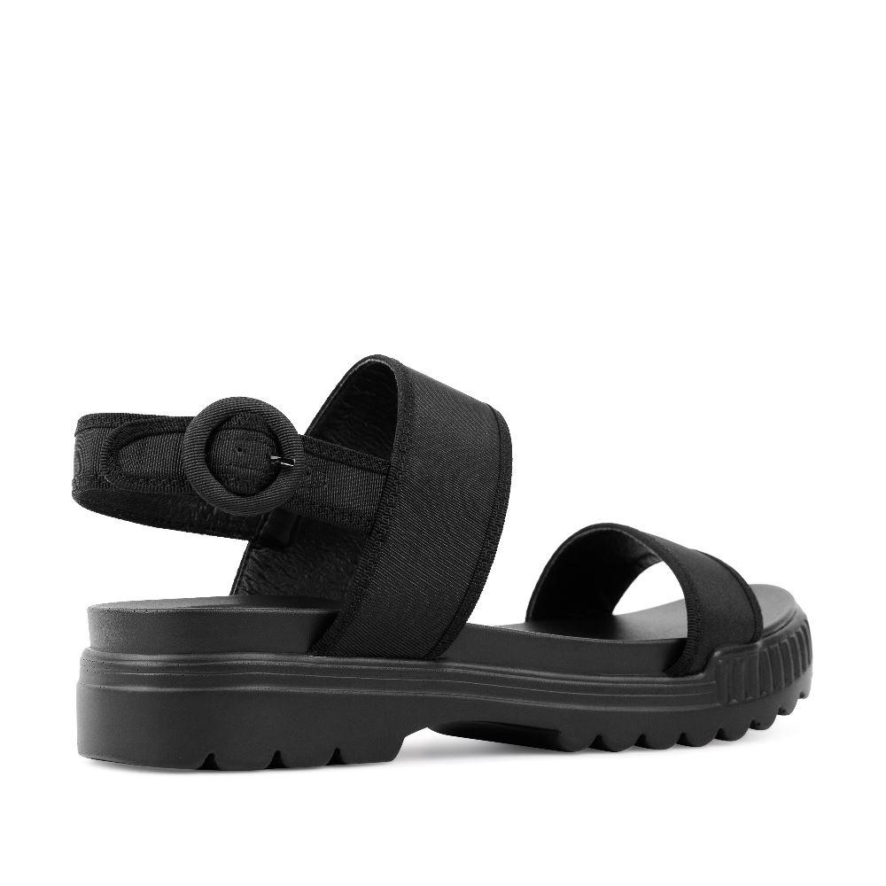 Женские сандалии CorsoComo (Корсо Комо) 52-H25-X1275-1G к.п. Пантолеты жен текстиль черн.