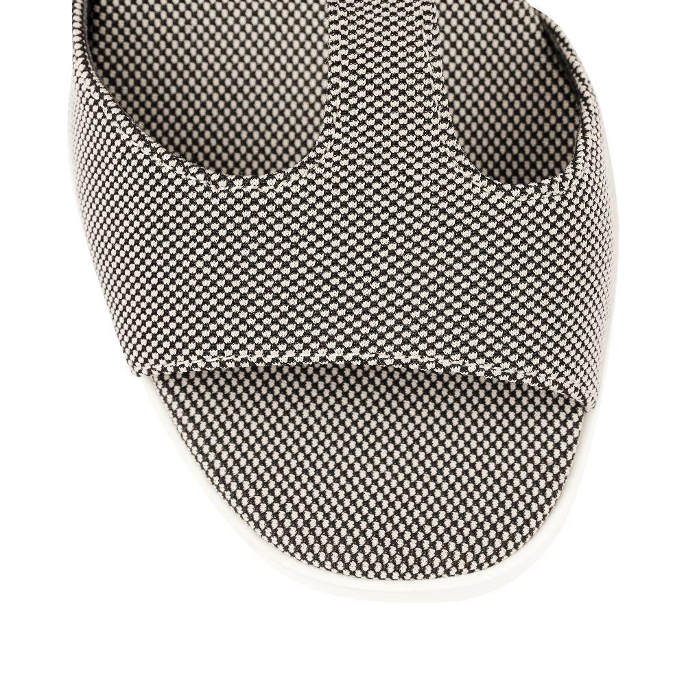 Женские босоножки CorsoComo (Корсо Комо) 52-H29-A451-10 без п. Туфли жен текстиль черн.бел.: изображение 3
