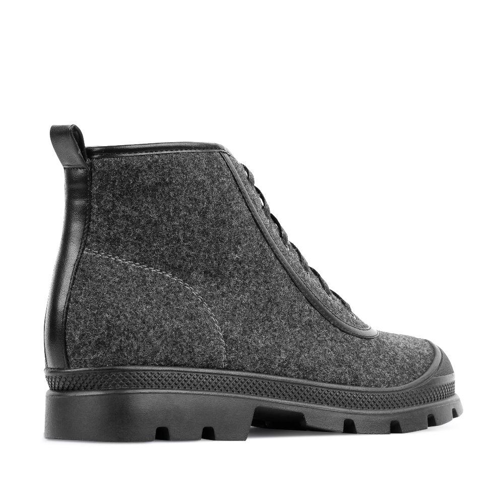 Женские ботинки CorsoComo (Корсо Комо) 52-E141-X707-1 т.п. Ботинки жен текстиль сер.