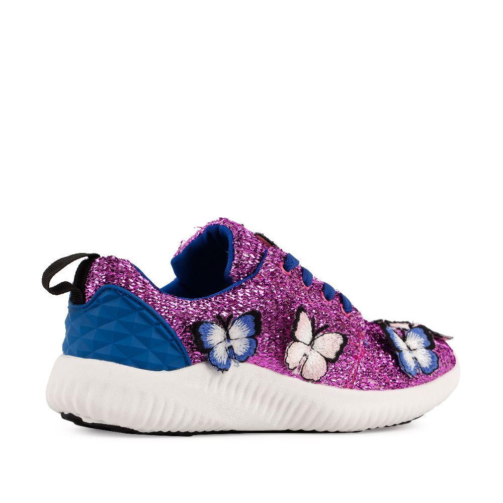 Женские кроссовки CorsoComo (Корсо Комо) Кроссовки розового цвета с аппликацией