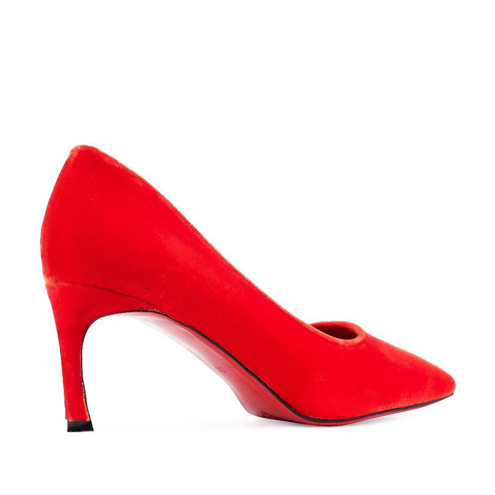 Женские туфли CorsoComo (Корсо Комо) 60-25-652-2-1 к.п. Туфли жен текстиль красн.
