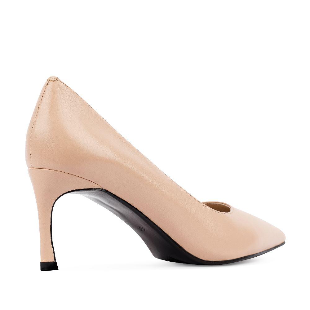 Женские туфли CorsoComo (Корсо Комо) 60-25-652-2-4 к.п. Туфли жен кожа беж.