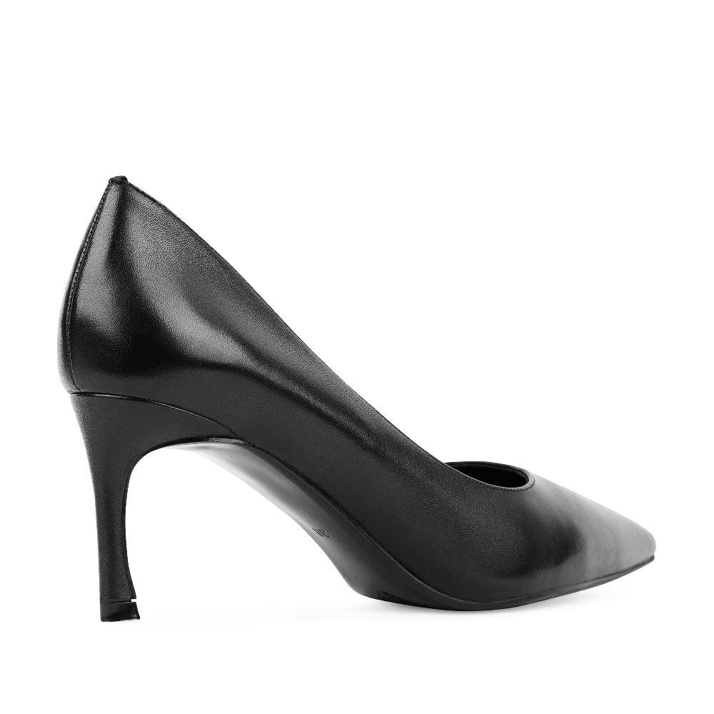 Женские туфли CorsoComo (Корсо Комо) 60-25-652-2-5 к.п. Туфли жен кожа черн.