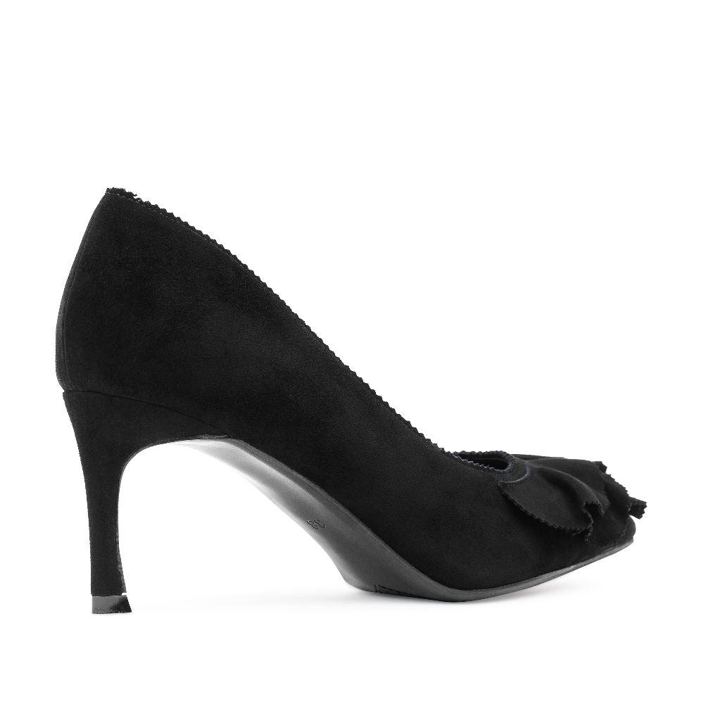 Женские туфли CorsoComo (Корсо Комо) 60-25-652-51-1 к.п. Туфли жен велюр черн.