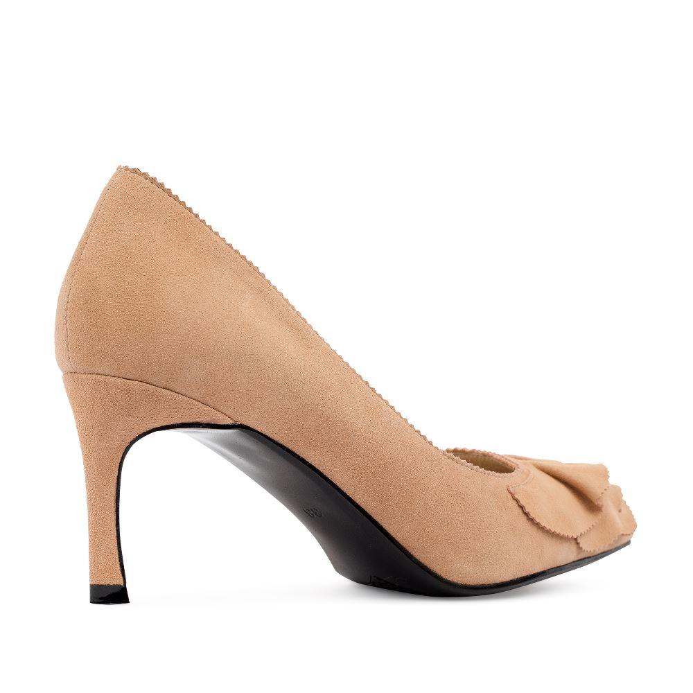 Женские туфли CorsoComo (Корсо Комо) 60-25-652-51-2 к.п. Туфли жен велюр беж.