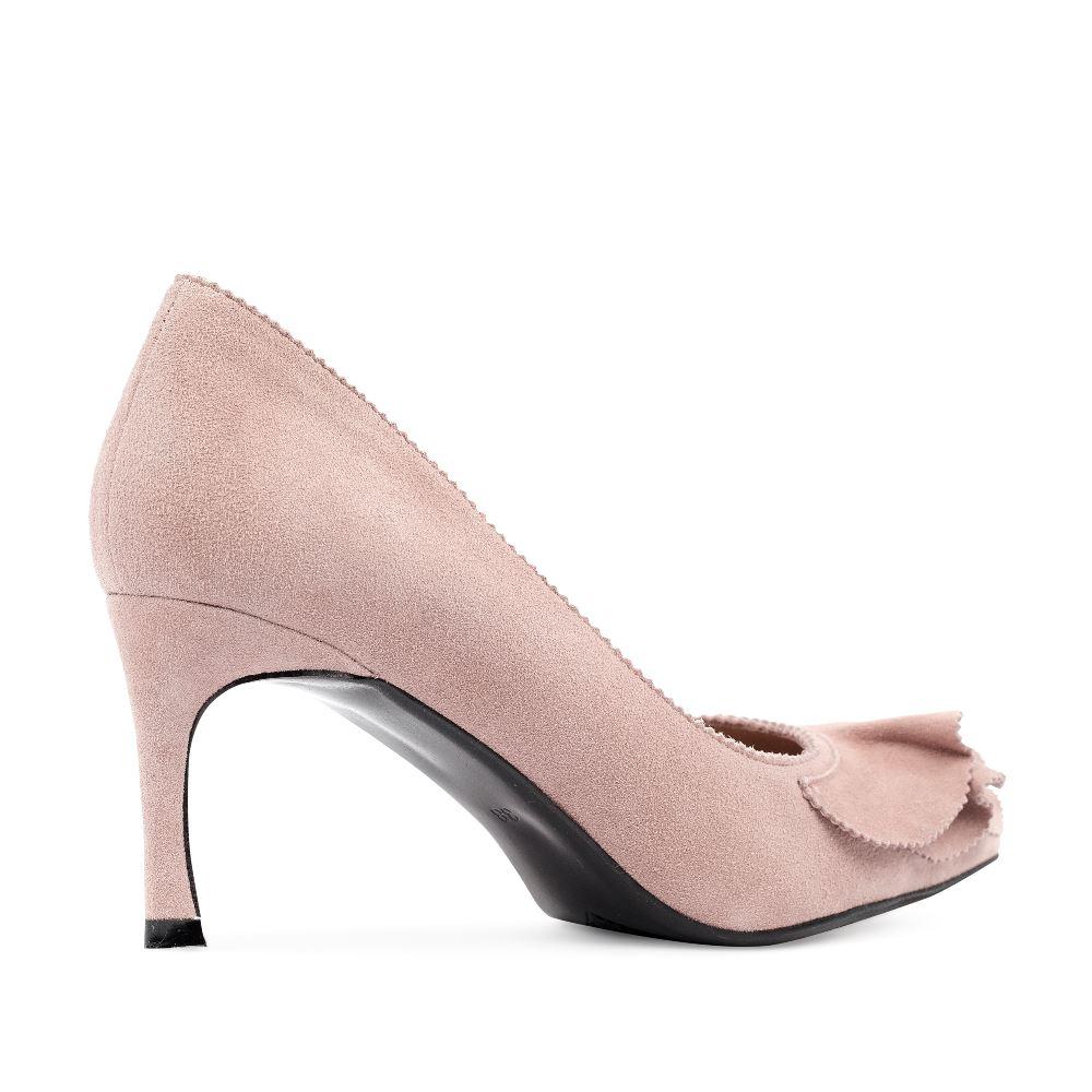 Женские туфли CorsoComo (Корсо Комо) 60-25-652-51-3 к.п. Туфли жен велюр роз.