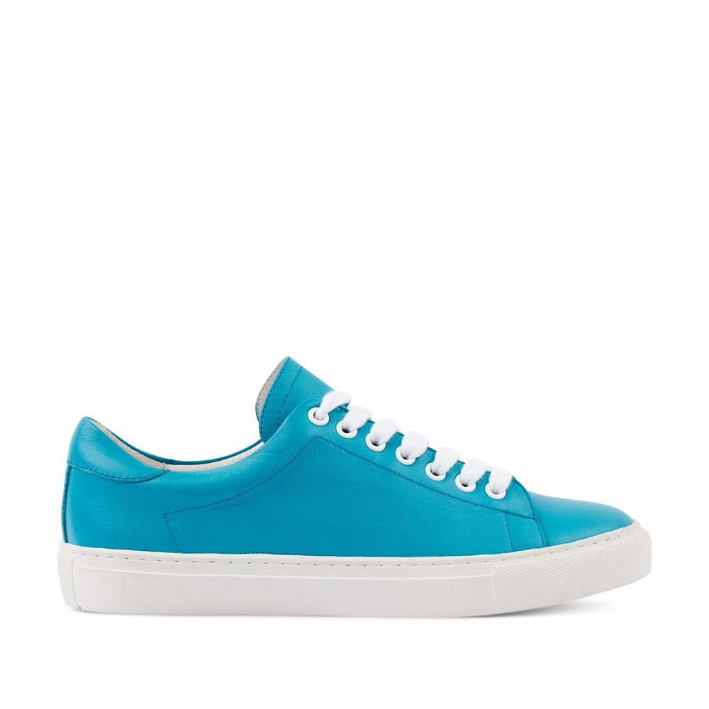 Кеды из кожи голубого цветаКроссовки женские<br><br>Материал верха: Кожа<br>Материал подкладки: Кожа<br>Материал подошвы: Полиуретан<br>Цвет: Голубой<br>Высота каблука: 2 см<br>Дизайн: Италия<br>Страна производства: Китай<br><br>Высота каблука: 2 см<br>Материал верха: Кожа<br>Материал подкладки: Кожа<br>Цвет: Голубой<br>Пол: Женский<br>Вес кг: 560.00000000<br>Размер: 37***