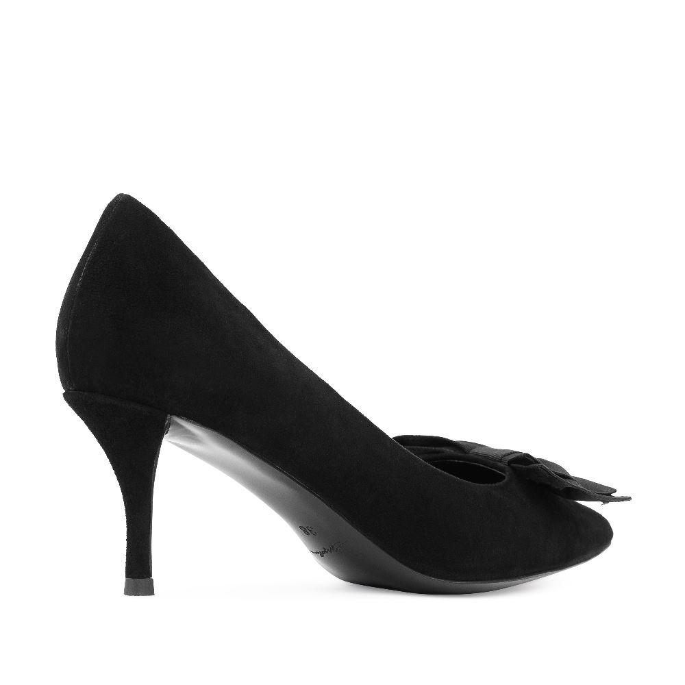 Женские туфли CorsoComo (Корсо Комо) 60-58-1336-2-1 к.п. Туфли жен велюр черн.