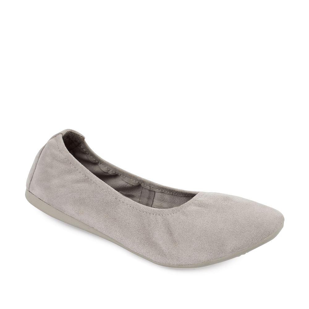 Женские балетки CorsoComo (Корсо Комо) 60-6-828-1-2 без п. Туфли жен велюр т.беж.