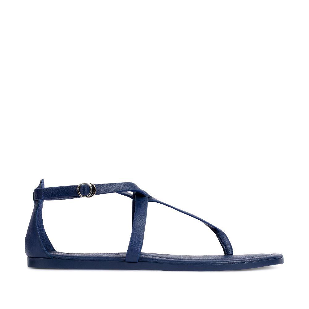 Сандалии из кожи темно-синего цвета 61-309-59305