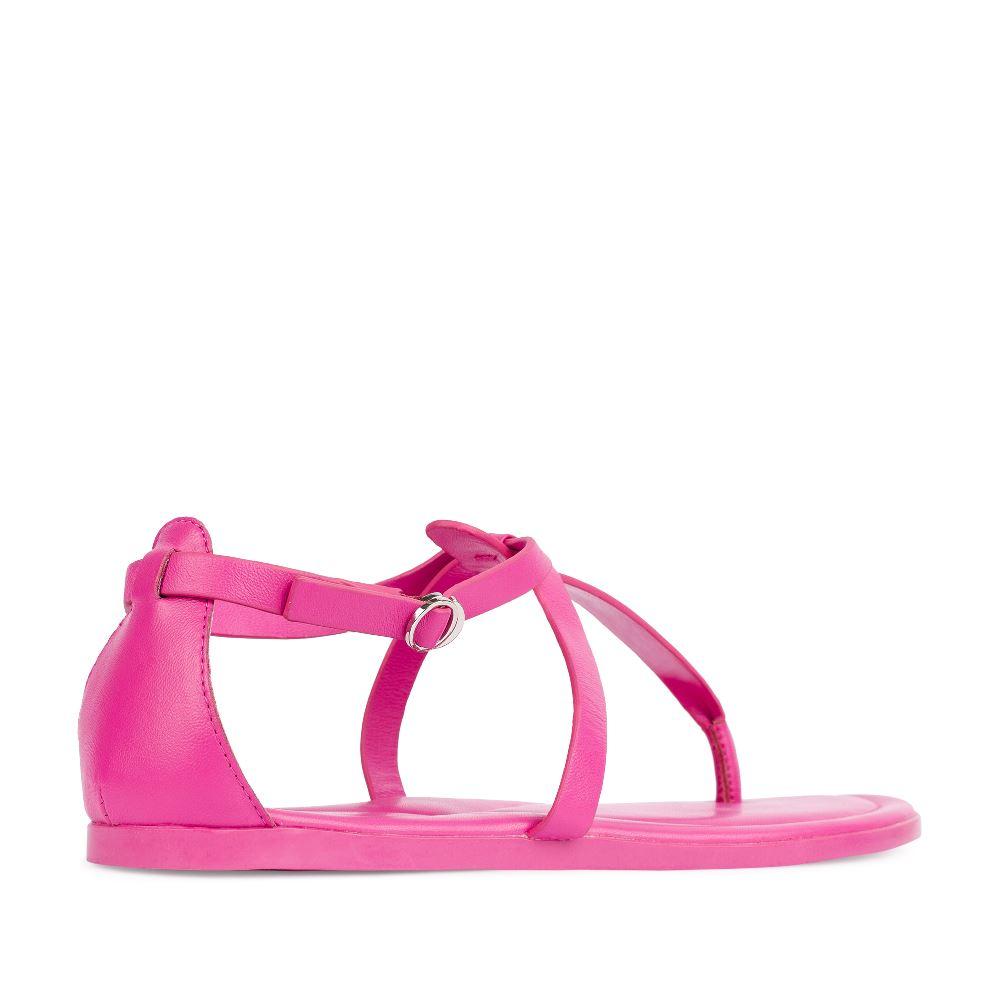Женские сандалии CorsoComo (Корсо Комо) Сандалии из кожи розового цвета