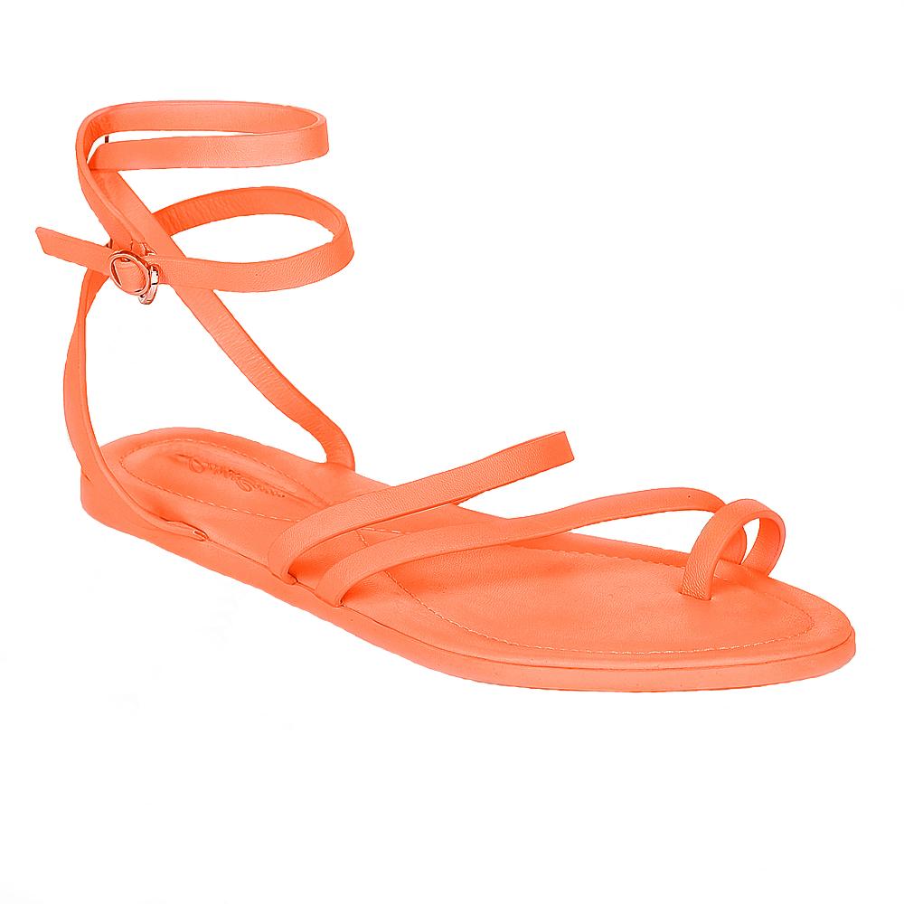 Женские сандалии CorsoComo (Корсо Комо) 61-309-60515 к.п. Сандалеты жен кожа оранж.