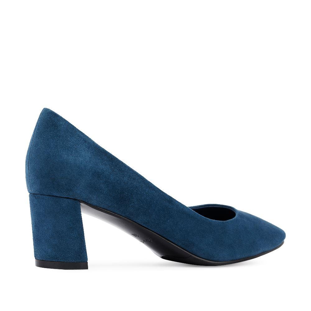 Женские туфли CorsoComo (Корсо Комо) 70-338-01-2 к.п. Туфли жен велюр син.