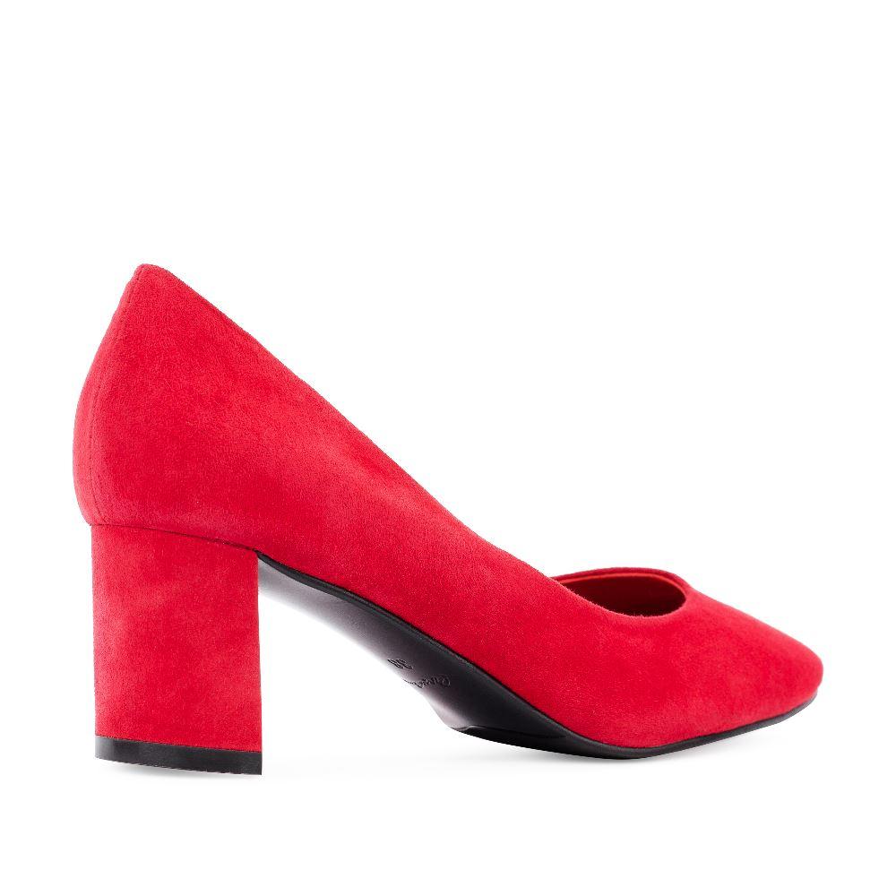 Женские туфли CorsoComo (Корсо Комо) 70-338-01-3 к.п. Туфли жен велюр красн.