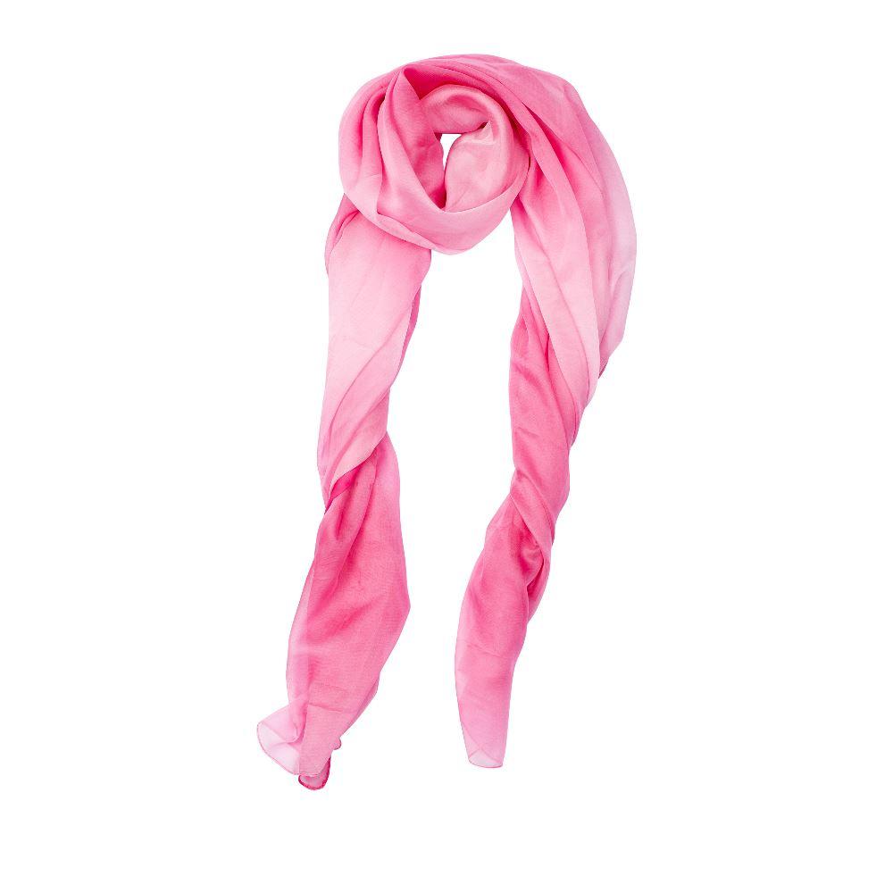 Шарф CorsoComo (Корсо Комо) Шарф розового цвета с эффектом деграде