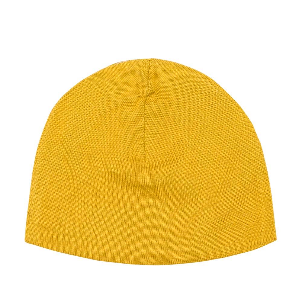Шапка солнечно-желтого цвета