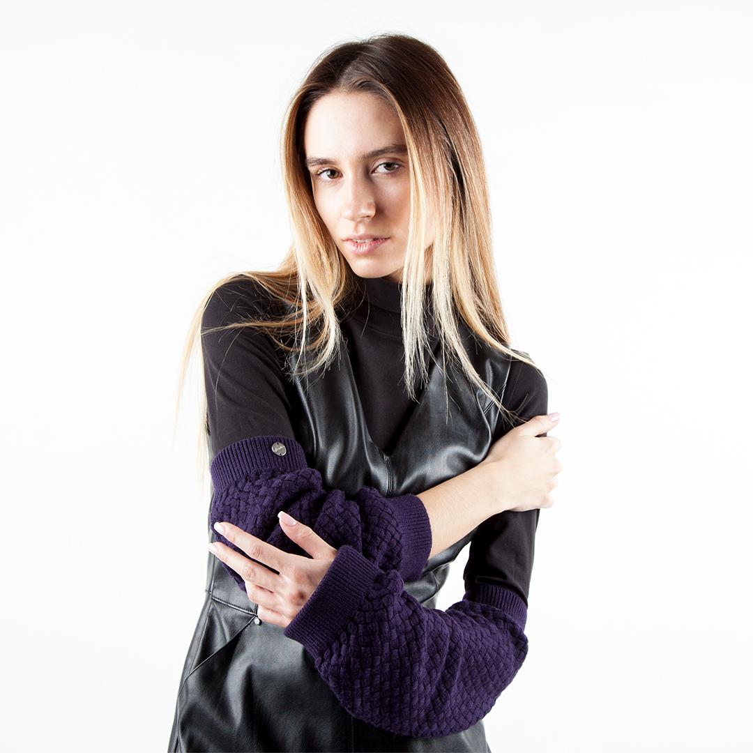 Гетры CorsoComo (Корсо Комо) 77-608-3 без п. Гетры жен текстиль фиол.