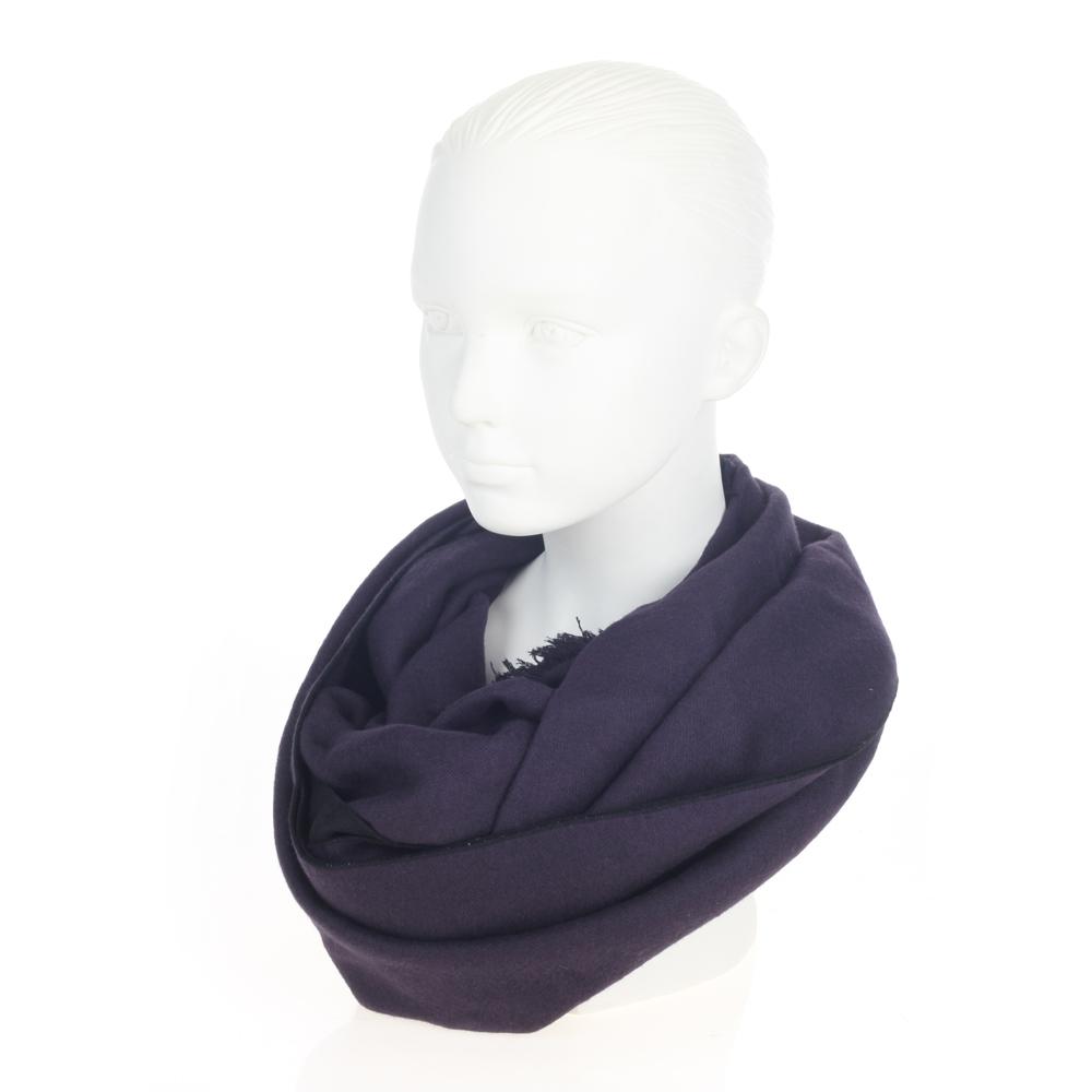 Шарф CorsoComo (Корсо Комо) 77-909-2G без п. Шарф жен текстиль черн.фиолет.