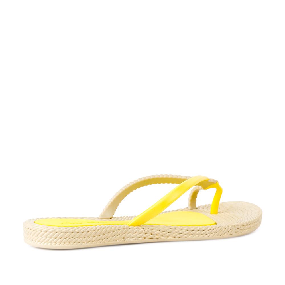 Женские сандалии CorsoComo (Корсо Комо) Сланцы желтого цвета