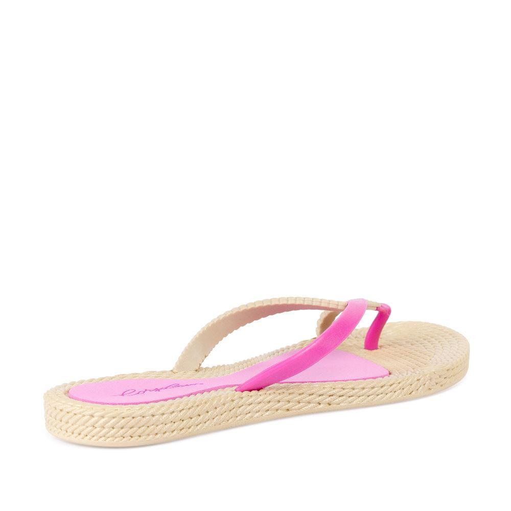 Женские сандалии CorsoComo (Корсо Комо) Сланцы розового цвета