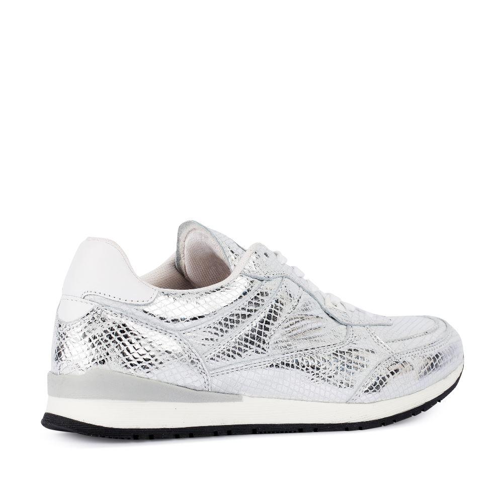Женские кроссовки CorsoComo (Корсо Комо) 94-RUNY-silver
