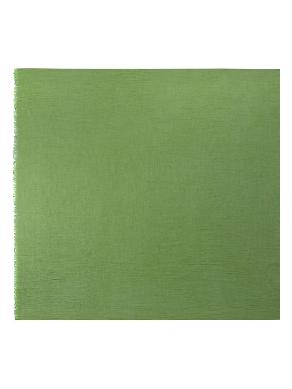 Шарф зеленого цвета