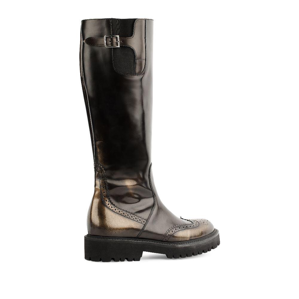 Сапоги на каблуке CorsoComo (Корсо Комо) GAAW162NIK-4