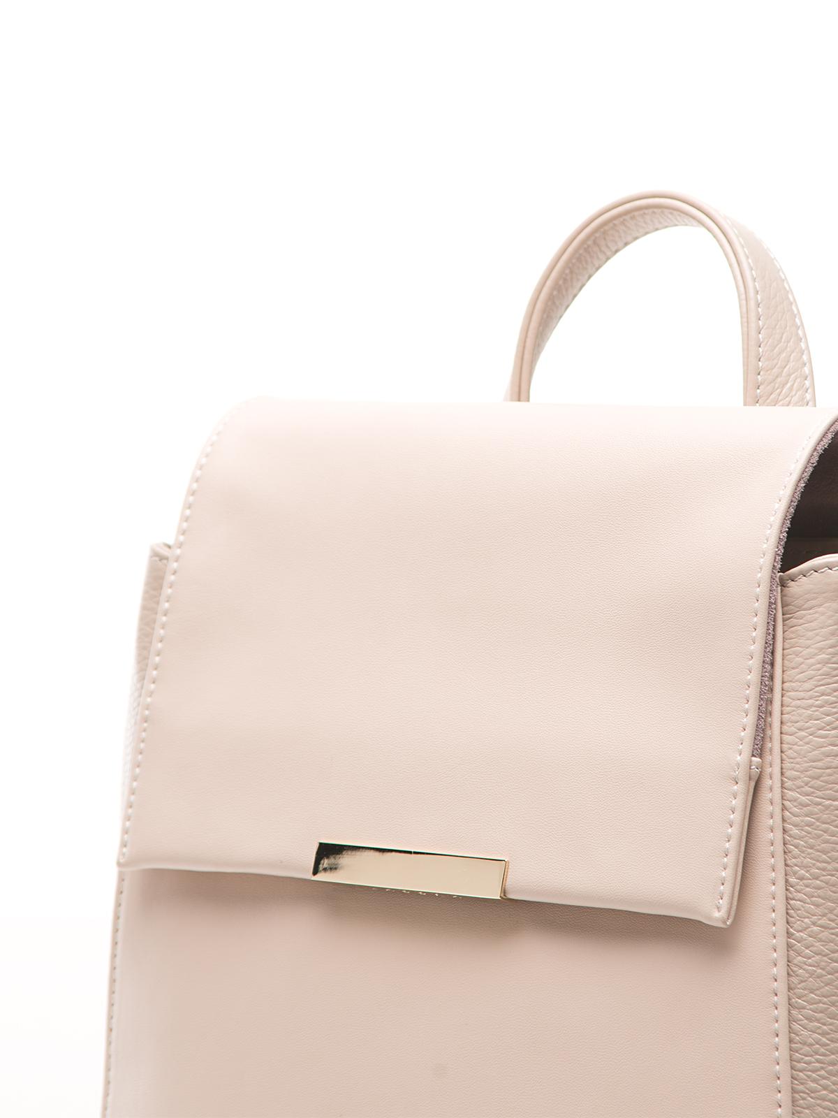Сумка CorsoComo (Корсо Комо) Рюкзак из кожи сливочного цвета