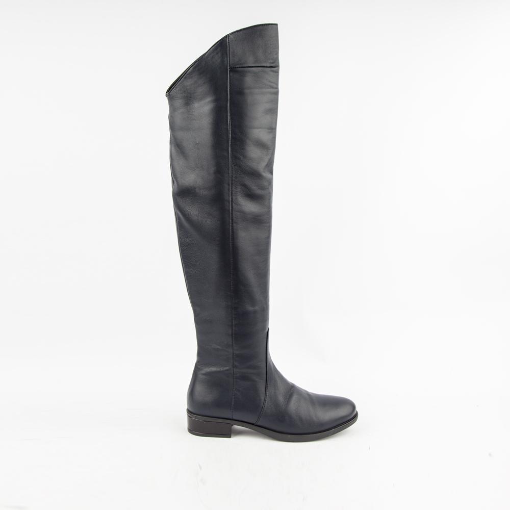 Сапоги на каблуке CorsoComo (Корсо Комо) Женские ботфорты RS8201-1-4
