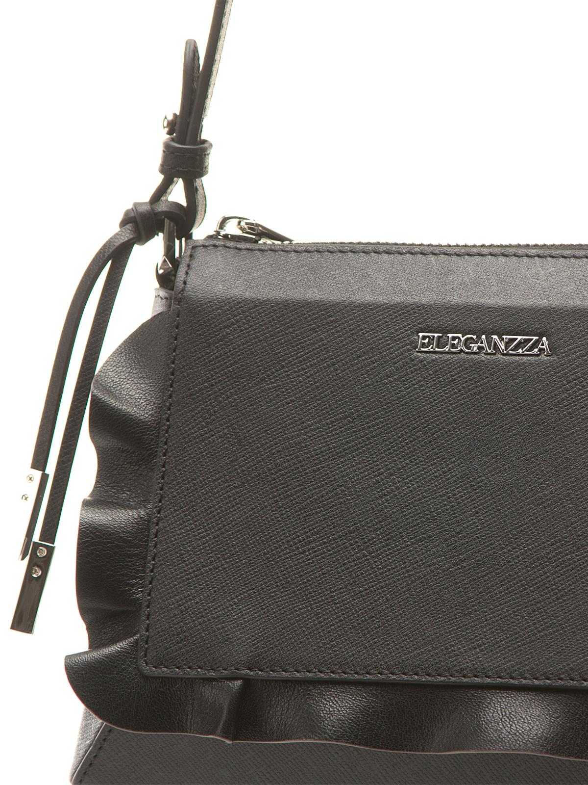Сумка Eleganzza Z5243-5113-black-pink